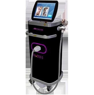 מכשיר הסרת שיער בלייזר מקצועי - פניקס 3